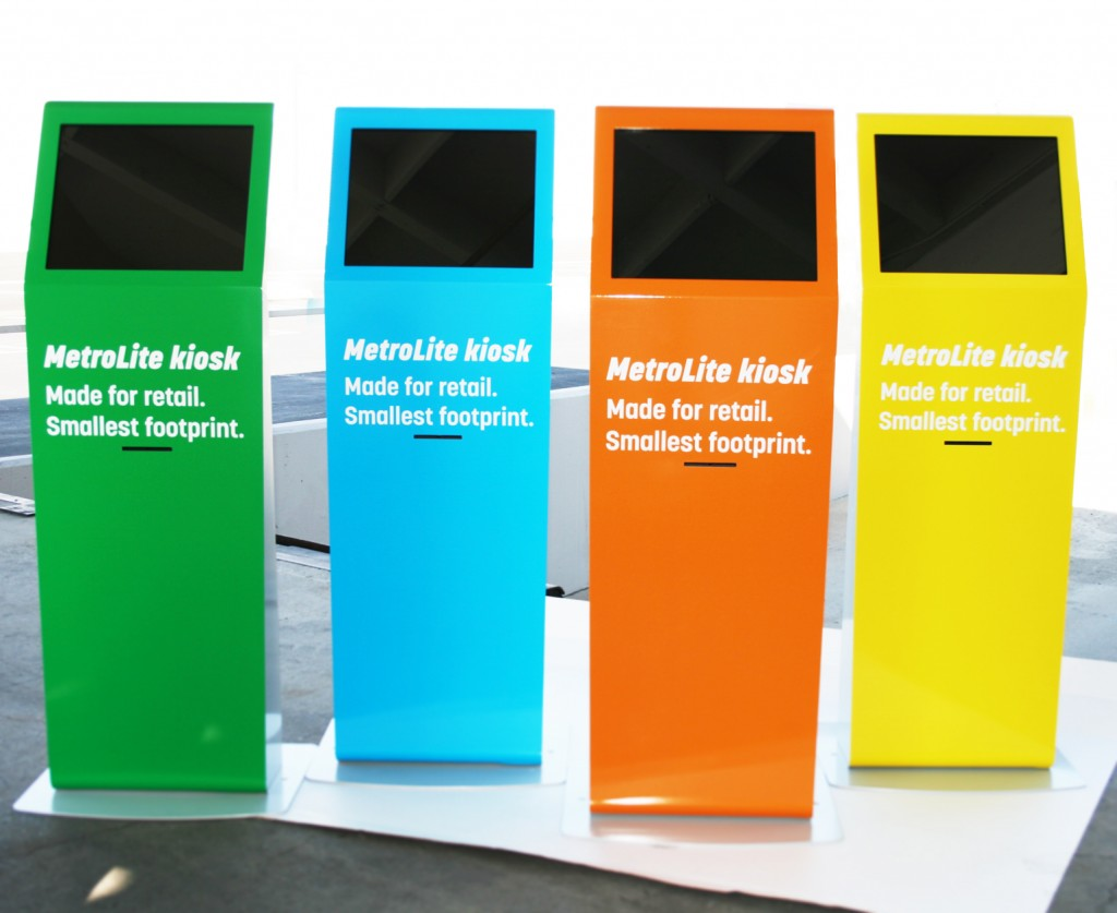 Metrolite Modern Retail Kiosk