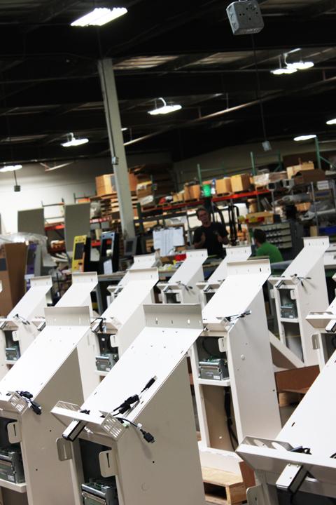 BonTon Retail Kiosks In Our Work Shop