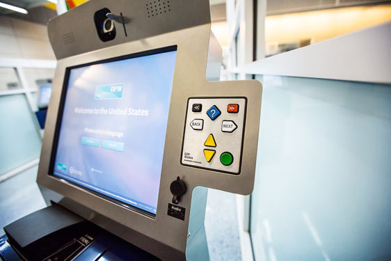 Automated Passport Solution Kiosk