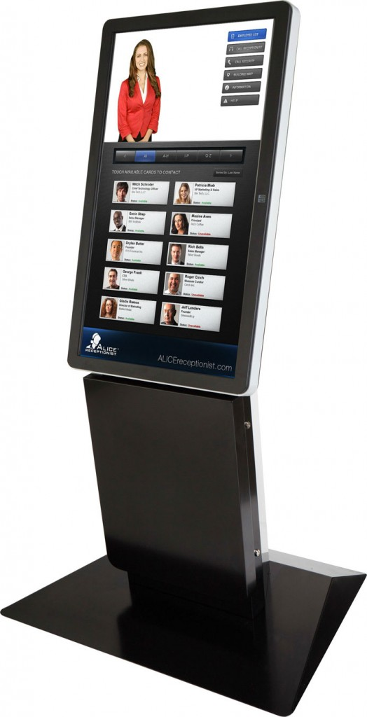 Olea Virtual Receptionist Kiosk