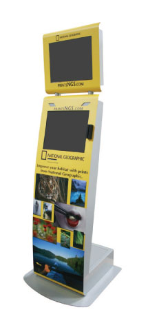 National Geographic Self-Service Kiosk