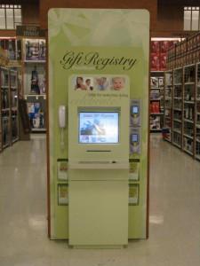 Gift Registry Kiosk