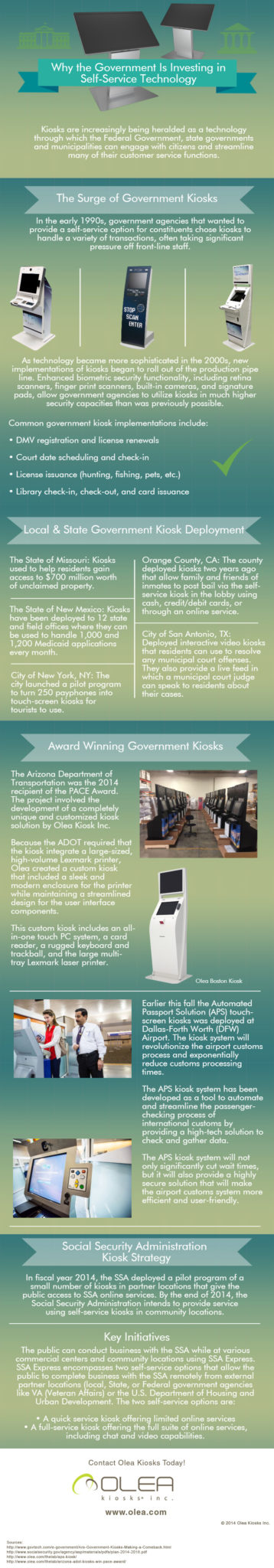 Government Kiosks - Why the government is increasing its investment in kiosk technologies