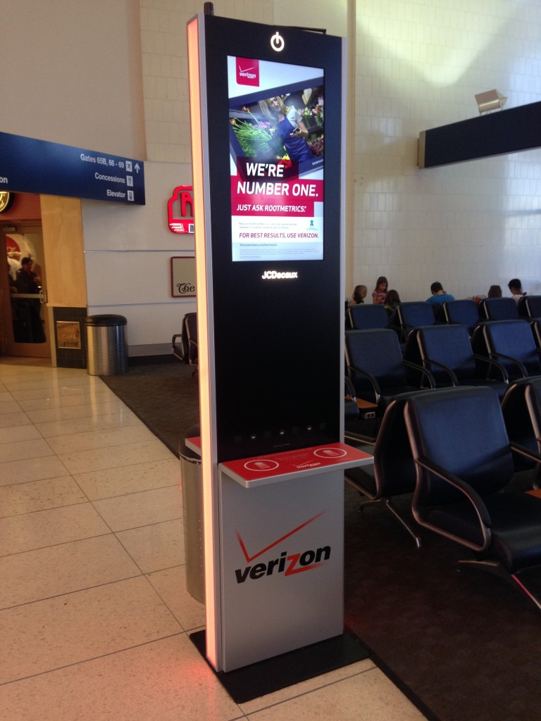 JCDecaux Airport, Inc. Charging Kiosk