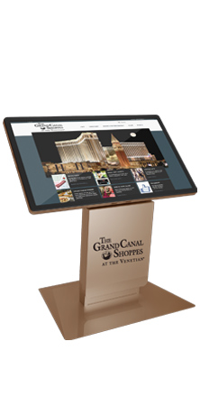 Milan Digital Signage Kiosk for Grand Canal Shoppes in Las Vegas