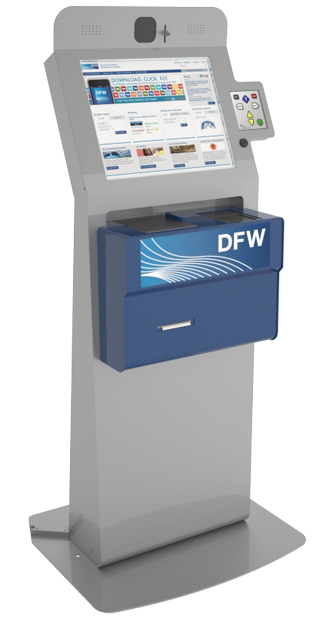 DFW Customs Kiosks