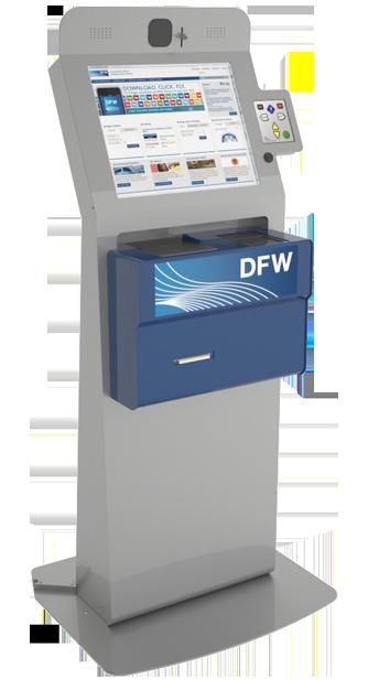 DFW Customs Kiosks