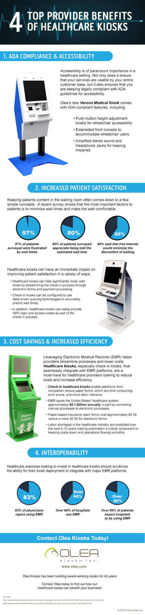 Top 4 Provider Benefits with Healthcare Kiosks