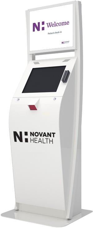 Novant Healthcare Kiosk