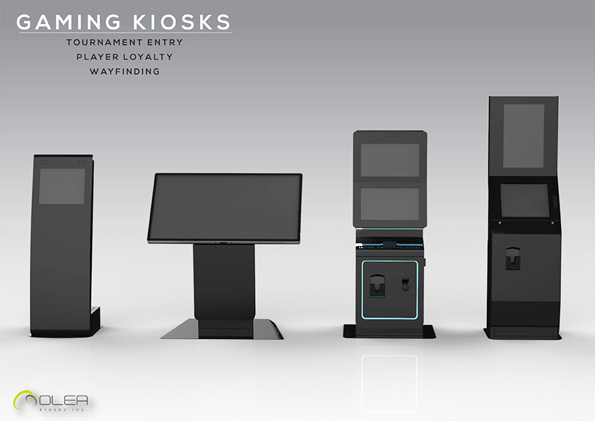 Olea Casino Gaming Kiosks - multiple models