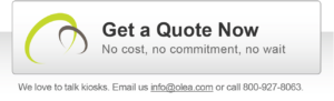 Get a quote from Olea Kiosks