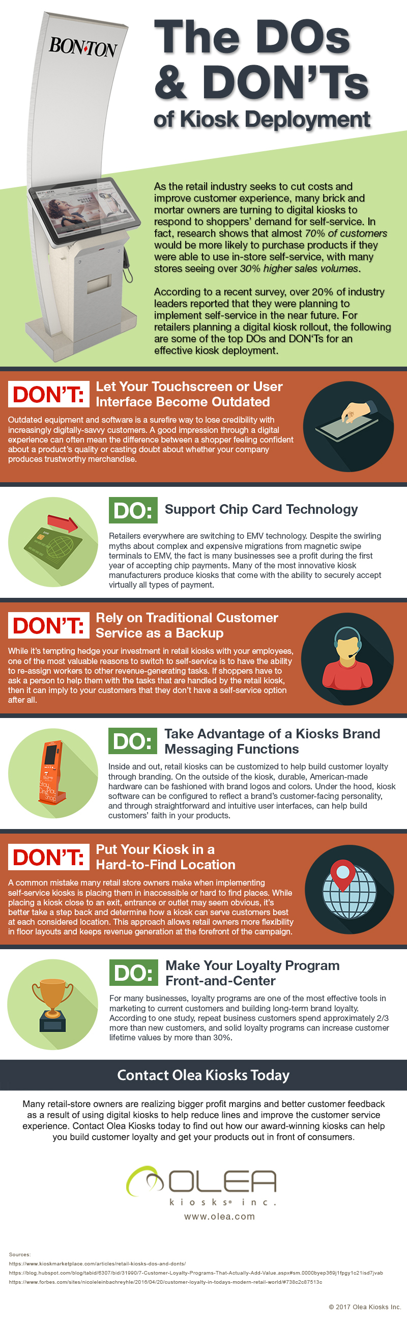 The Do's and Don'ts of Retail Kiosk Implementation