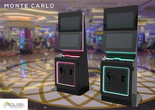Olea Monte Carlo Casino Loyalty Program Kiosk