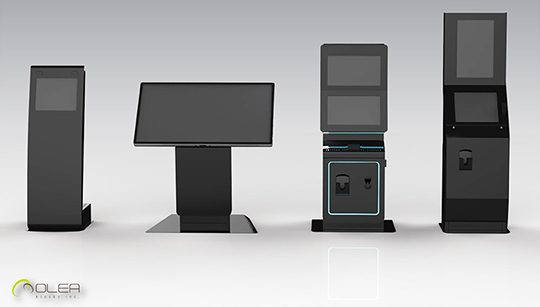 Interactive Kiosks Touchscreen Options - Olea Kiosks Models