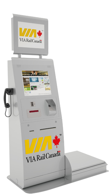 Self-Service Ticket Kiosk Solutions by Olea™