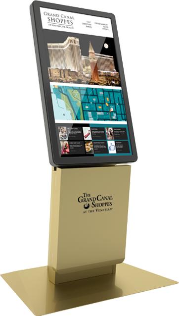 Olea Touchscreen Wayfinding Kiosks