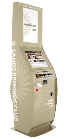 Gaming Kiosks Casino Loyalty Program Kiosks