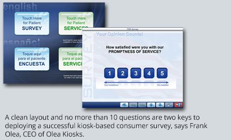 Kiosk-based Consumer Survey