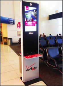 JCDecaux Charging Station by Olea Kiosks