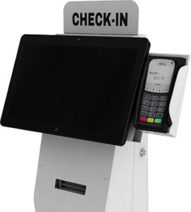 "The ""Austin"" Kiosk - Freestanding Patient Check-In Kiosk"