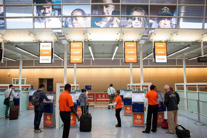 Dallas Fort-Worth Airport Customs Kiosks - Maintaining High-Traffic Kiosks