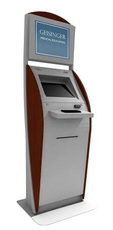 """The """"Boston"""" Interactive Kiosk - Customized for Geisinger Medical"""