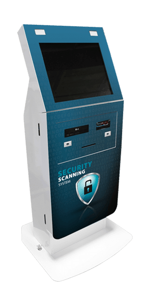 California Security Scanning System Kiosk