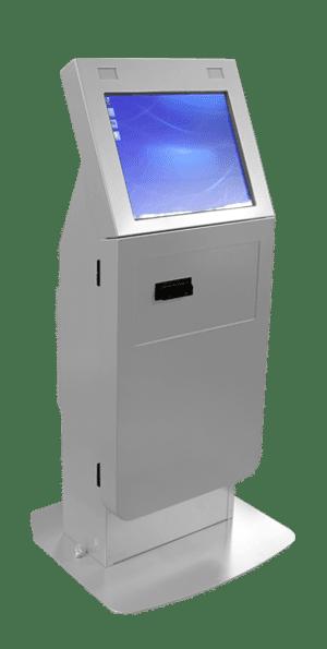 ADA Compliant Self-Service Kiosk Silver