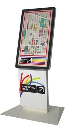 Milan P Wayfinding Kiosk
