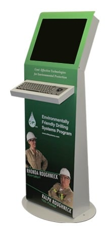 Metrolite Kiosk for EFD Systems