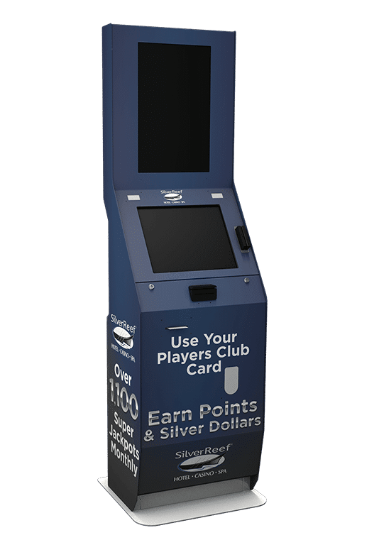 Players Club Card Casino Kiosk