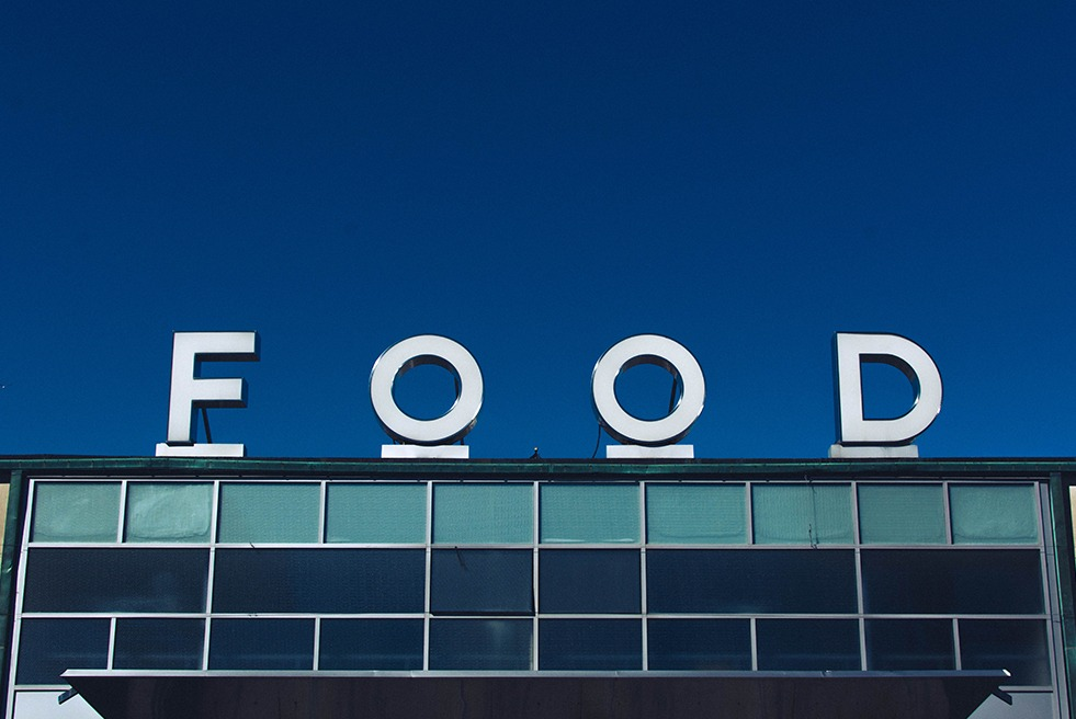 Food Giant Letters