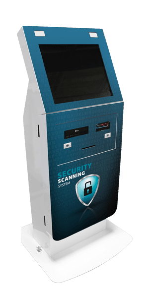 Security Scan System Blue