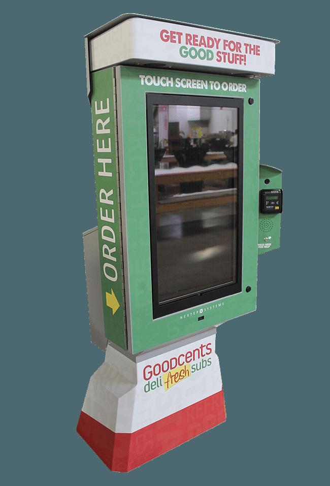 Self-Ordering Deli Kiosk