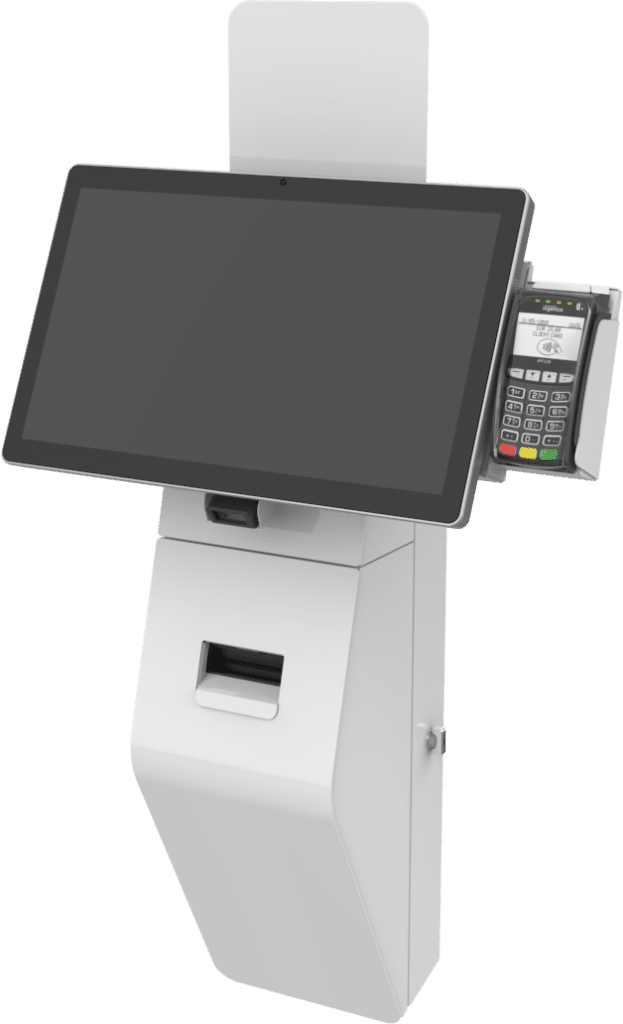 Touchscreen POS Kiosk