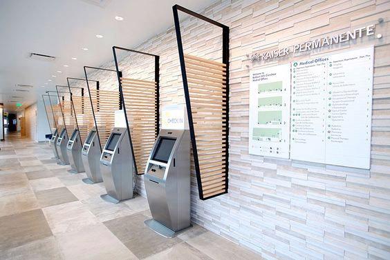 Boston Patient Check-In Kiosks for Kaiser Permanente