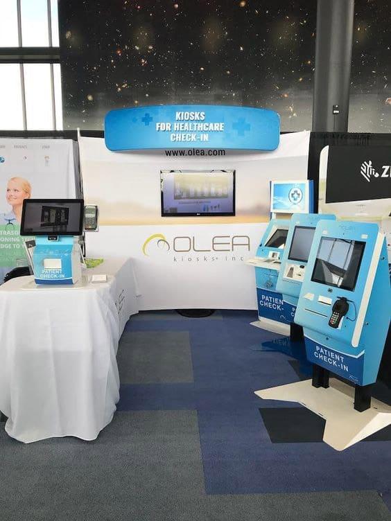 Olea Kiosks Patient Check-in Kiosks and Healthcare Kiosks