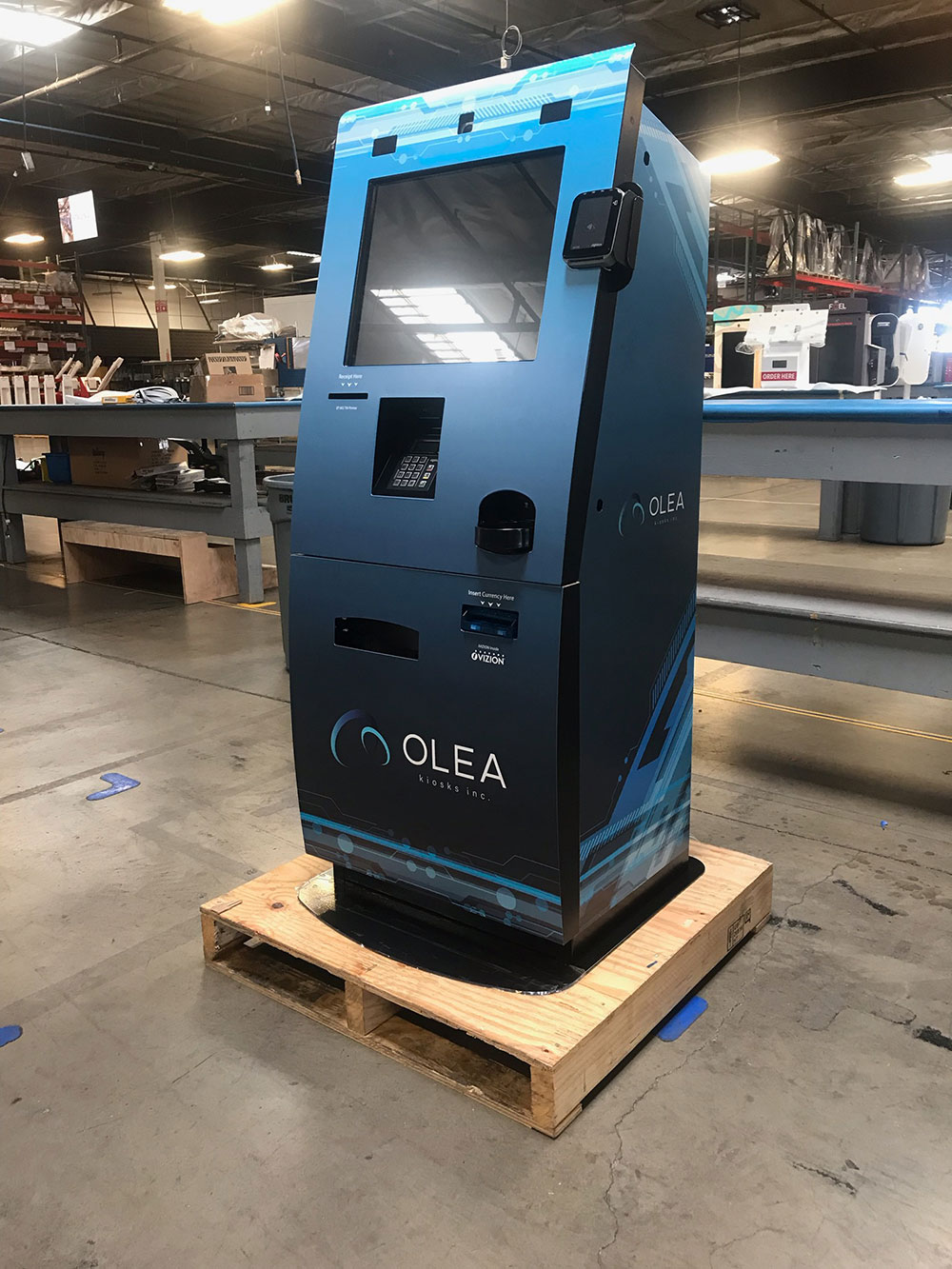 Franklin Bill Pay Kiosk by Olea Kiosks