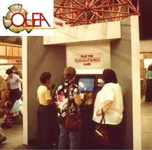 Olea's first kiosk