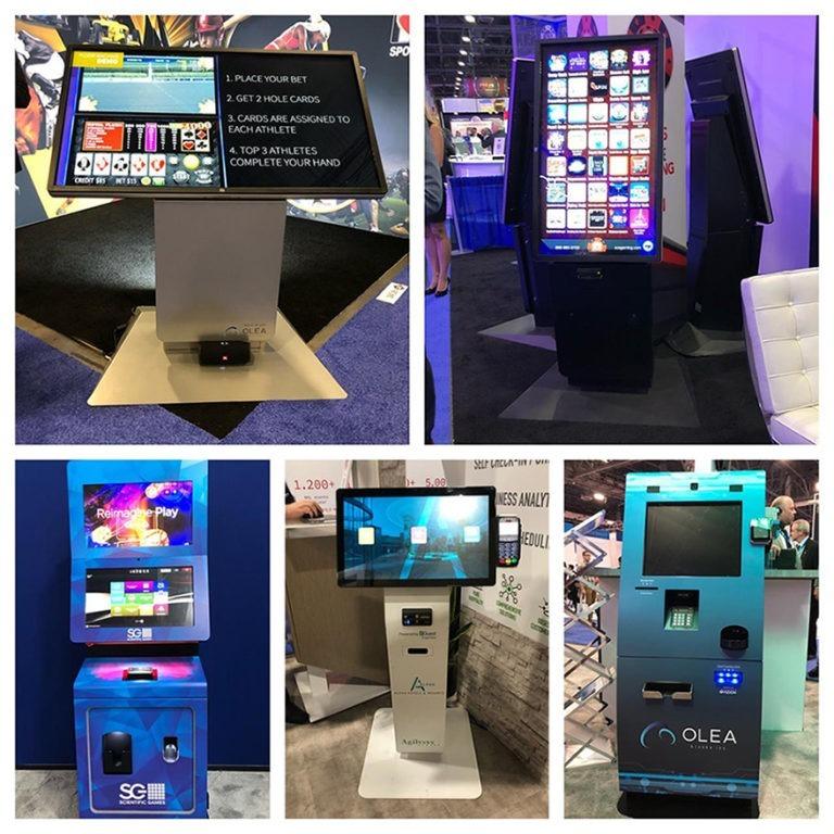 Poker Sportsbook Kiosks at G2E Vegas