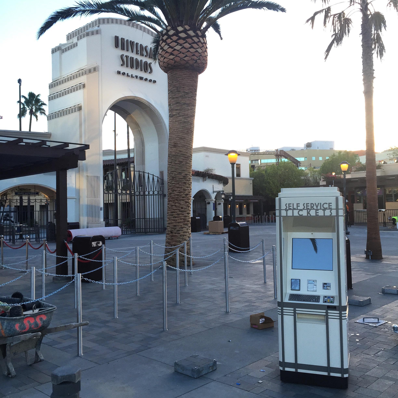 Universal Studios Kiosk