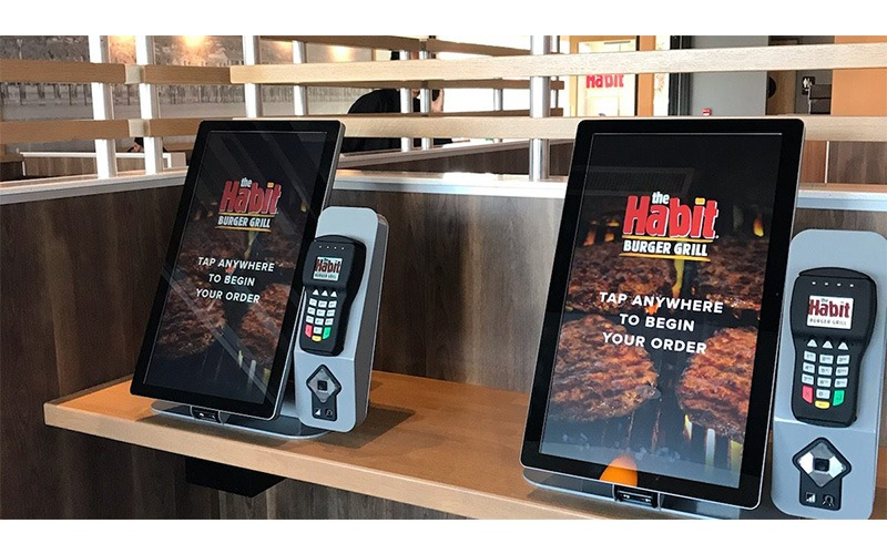 The Habit Self-Order Kiosks
