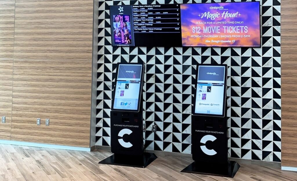 Movie Cinema Kiosks