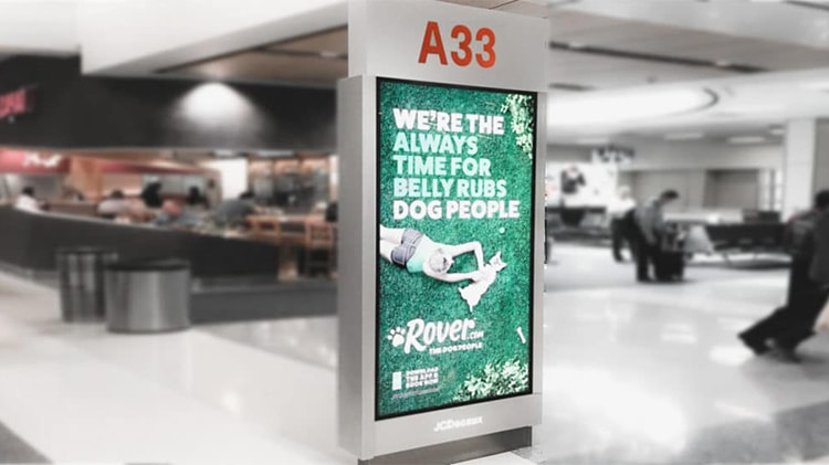 Airport Wayfinding Kiosk