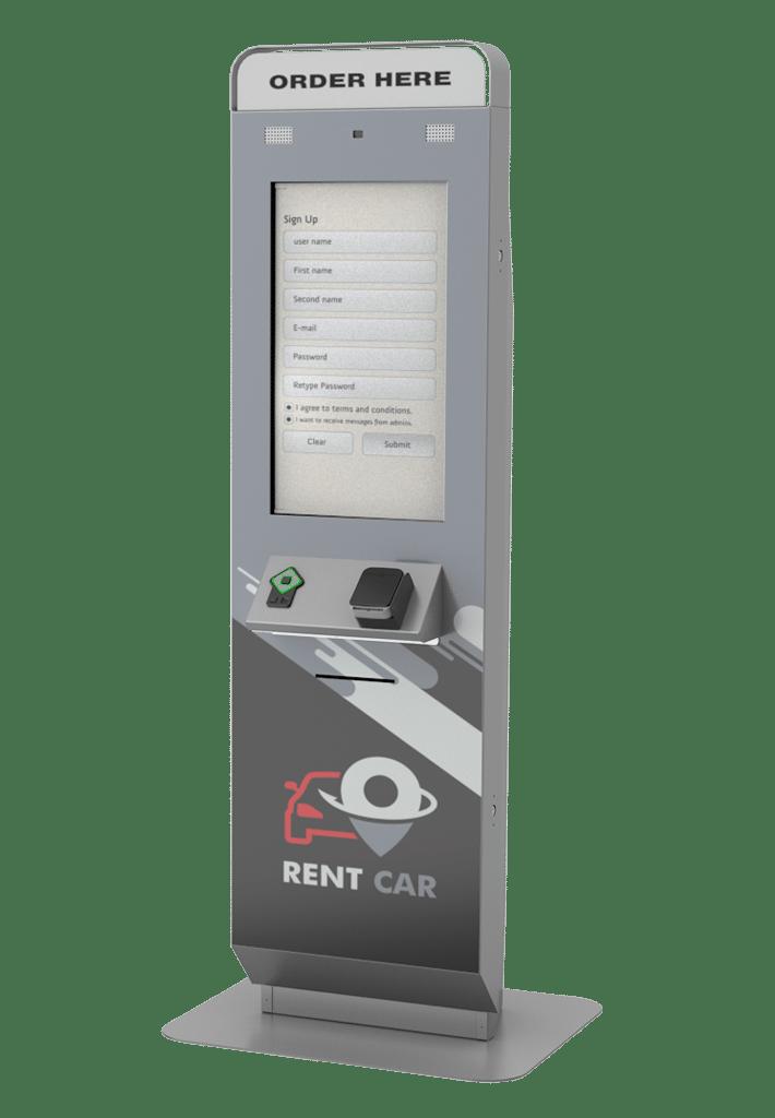 Geneva Rent Car Kiosk