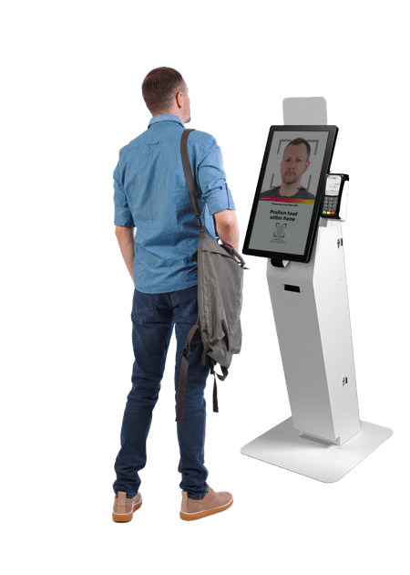 Facial Recognition with Kiosk