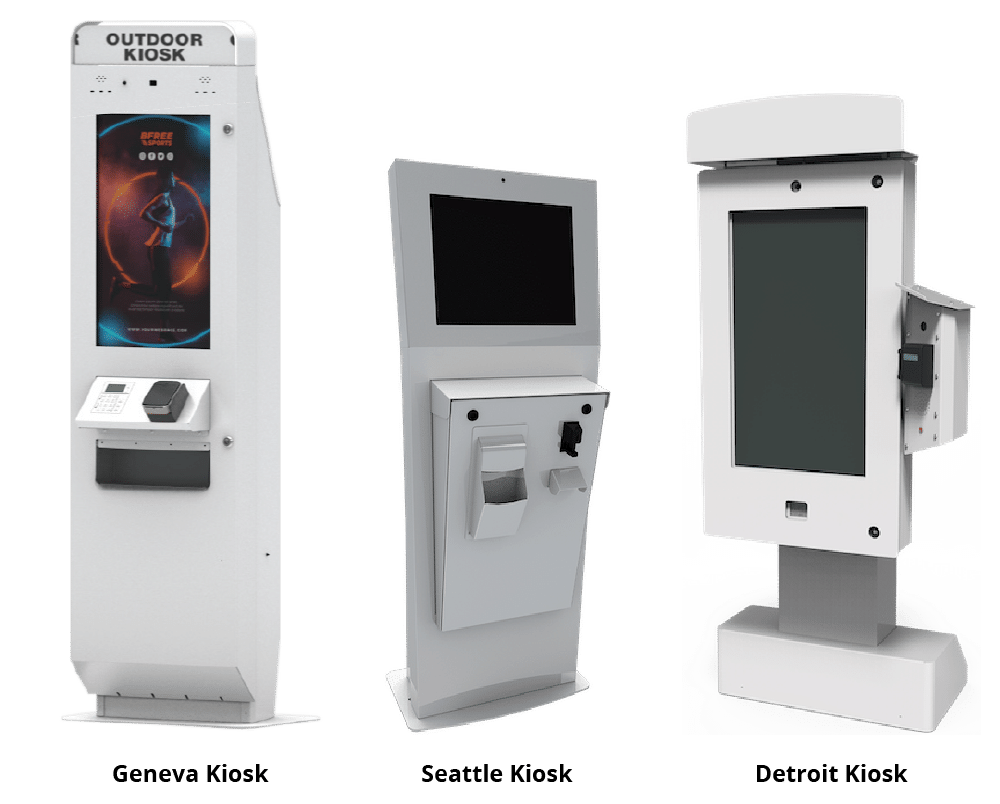 Different Brands of Outdoor Kiosks