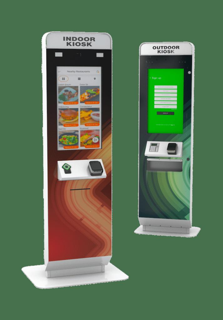 Indoor Kiosk and Outdoor Kiosk